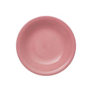 Like by Villeroy and Boch Color Loop Rose Deep plate - 19-5281-2700 - La Belle Table