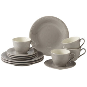 Like by Villeroy and Boch Color Loop Stone Coffee set 12pcs - 19-5282-9014 - La Belle Table