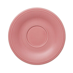 Like by Villeroy and Boch Color Loop Rose Coffee Saucer - 19-5281-1310 - La Belle Table