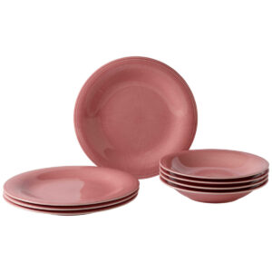 Like by Villeroy and Boch Color Loop Rose Dinner set 8pcs - 19-5281-8717 - La Belle Table
