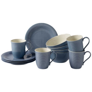Like by Villeroy and Boch Color Loop Horizon Breakfast Set 12pcs - 19-5280-9028 - La Belle Table