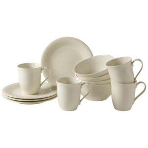 Like by Villeroy and Boch Color Loop Natural Breakfast Set 12pcs - 19-5284-9028 - La Belle Table