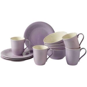 Like by Villeroy and Boch Color Loop Blueblossom Breakfast Set 12pcs - 19-5285-9028 - La Belle Table