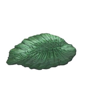 Aulica Rododendrum Small Leaf Plate - 132417 - La Belle Table