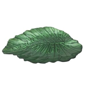 Aulica Rododendrum Large Leaf Plate - 132517 - La Belle Table